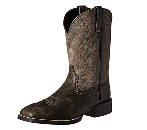 Ariat Men's Sports Wide Square Toe Western Cowboy Boot