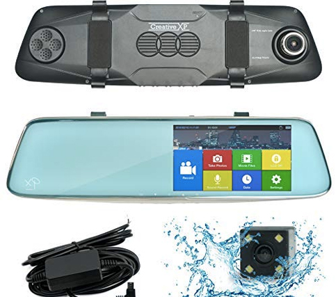CreativeXP Dual Car Camera Front and Rear