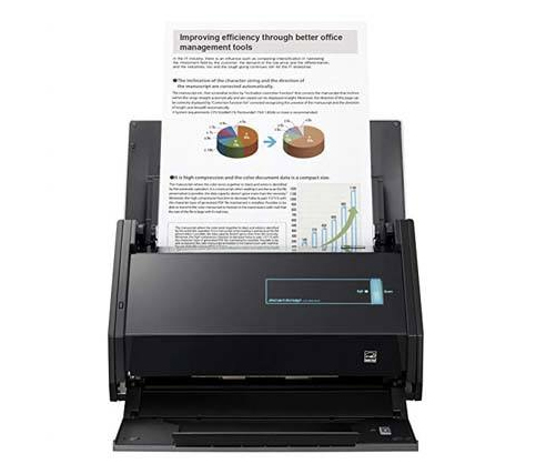 Fujitsu ScanSnap iX500 Scanner for Mac and PC