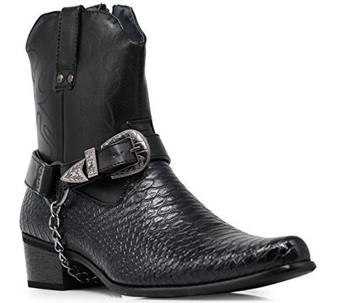 Men's Crocodile Prints Cowboy Boots