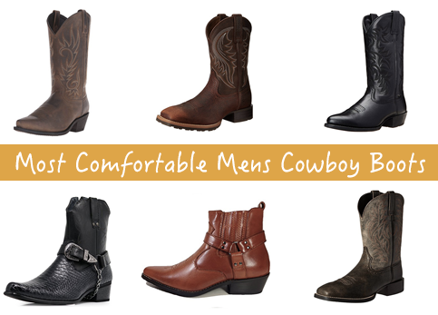 Most Comfortable Mens Cowboy Boots