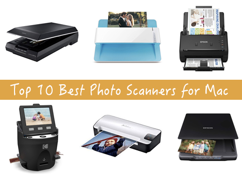 Top 10 Best Photo Scanners for Mac