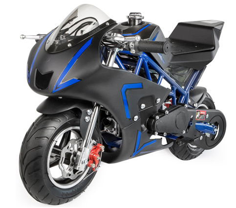 XtremepowerUS 40CC 4-Stroke Gas Power Mini Pocket Motorcycle Ride