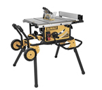 DEWALT DWE7491RS Job Site Table Saw with Rolling Stand