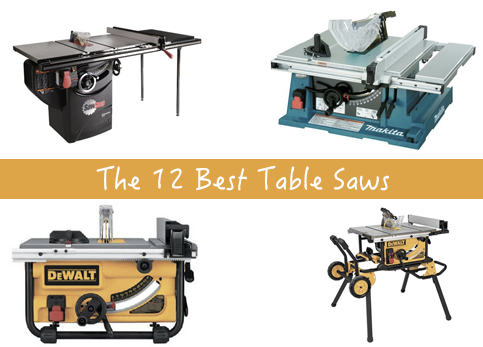 The 12 Best Table Saws
