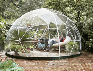 Garden Dome Igloo - 12 Ft Stylish Conservatory, Play Area, Greenhouse or Gazebo