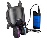 3M Powerflow Face-Mounted Powered Air Purifying Respirator