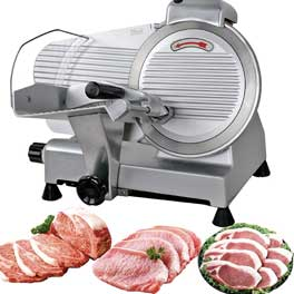 Best electric slicers_F2C Professional Stainless Steel Semi-Auto Meat Slicer Electric Food Slicer