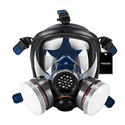 Holulo Organic Vapor Full Face Safety Respirator Mask