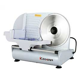 Kitchener 9-inch Professional Electric Meat Deli Cheese Food Slicer with Stainless Steel Blade having power of 150 Watt