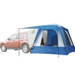 Sportz SUV Blue suv tents for camping