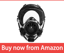 Mestel Safety - Full-face Gas Mask, Anti-Gas Respirator Mask - Resistant to Chemical Agents and Aggressive Toxic Substances - Suitable for Pesticide and Chemical Protection - SGE 400/3 BB S/M