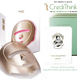 infrared LED Photon Mask for Home LED Therapy - GOLD