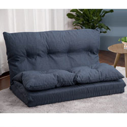 Merax Adjustable Fabric Folding Chaise Lounge Sofa Chair Floor Couch