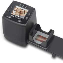 DIGITNOW! 135 Film Negative Scanner High Resolution Slide Viewer,Convert 35mm Film &Slide to Digital JPEG Save into SD Card , with Slide Mounts Feeder No Computer/Software Required