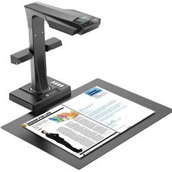 CZUR ET16-P Professional Document Camera Scanner with 2nd Gen Laser Curve-Flattening Tech, Perfect for Bound Documents & Books, Smart OCR for Mac