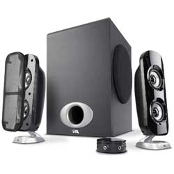 Cyber Acoustics High Power 2.1 Subwoofer Speaker System