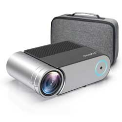 Mini Projector, Vamvo L4200 Portable Video Projector