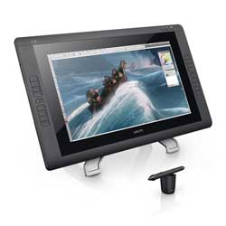 Wacom DTK2200 Cintiq 22HD 21-Inch Pen Display Tablet