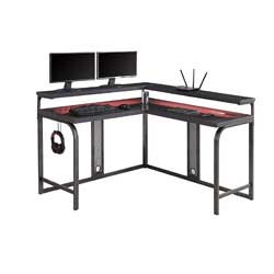 Z-Line Designs Series 1.2 Performance L Desk, Grey