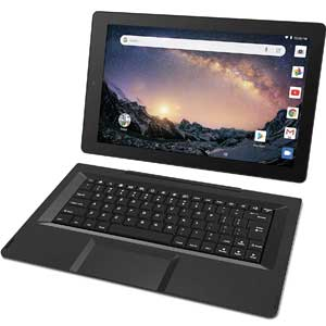 "RCA Galileo 11.5"" 32 GB Touchscreen Tablet Computer with Keyboard Case Quad-Core 1.3Ghz Processor 1GB Memory 32GB HDD Webcam Wifi Bluetooth Android 6.0"