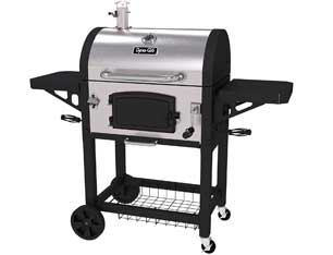 Dyna-Glo DGN486SNC-D Heavy Duty Stainless Charcoal Grill