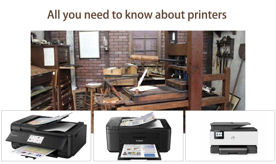 All you need to know about printers